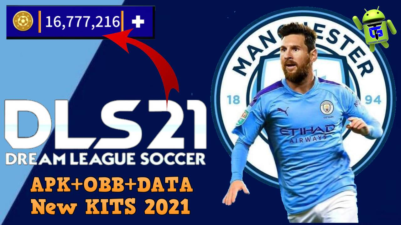 DLS 2021 Mod APK Messi on Manchester City Download