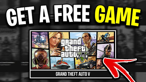 Now from May GTA 5 is a free at Epic Games Store
