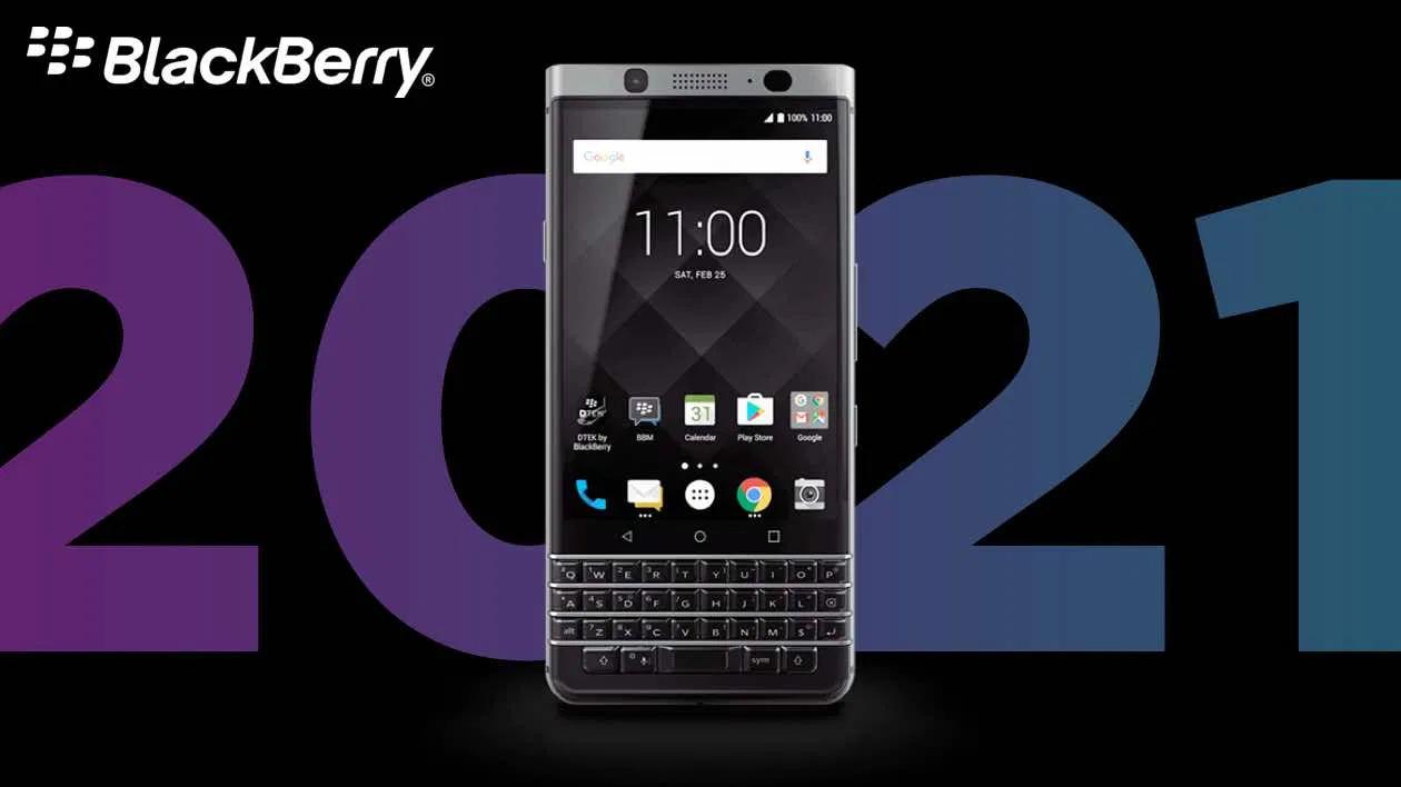 BlackBerry 5G 2021