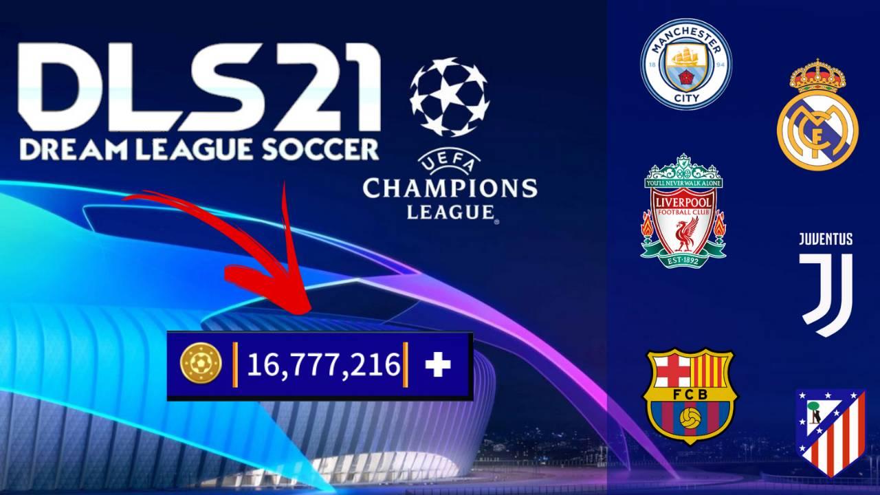DLS 21 UCL APK Mod Champions League Edition Download
