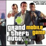GTA5 Grand Theft Auto 5 Mobile Highly Compressed Download