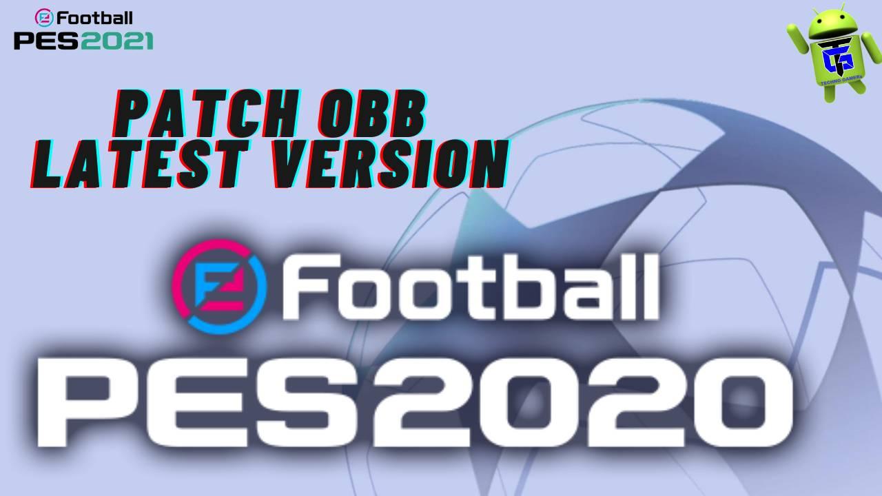 PES 2020 Mobile Patch APK OBB Download