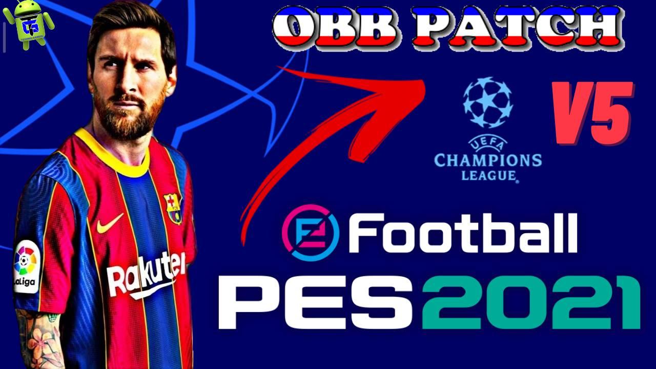 OBB Patch PES 2021 Mobile UCL Champions League Download