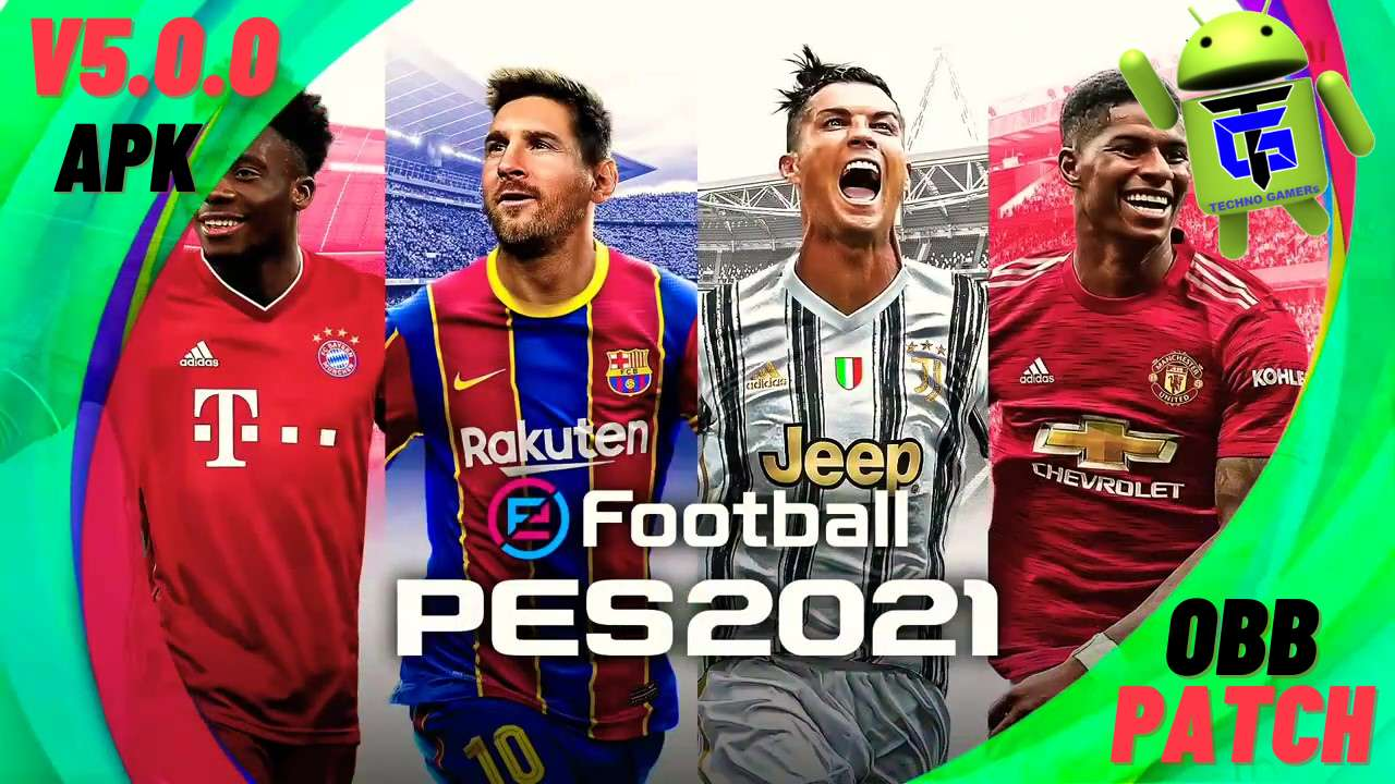 PES 2021 Patch APK OBB Download