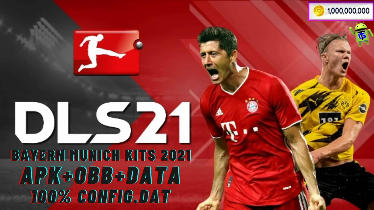 DLS 21 APK Data Kits 2021 Bayern Munich Android Download