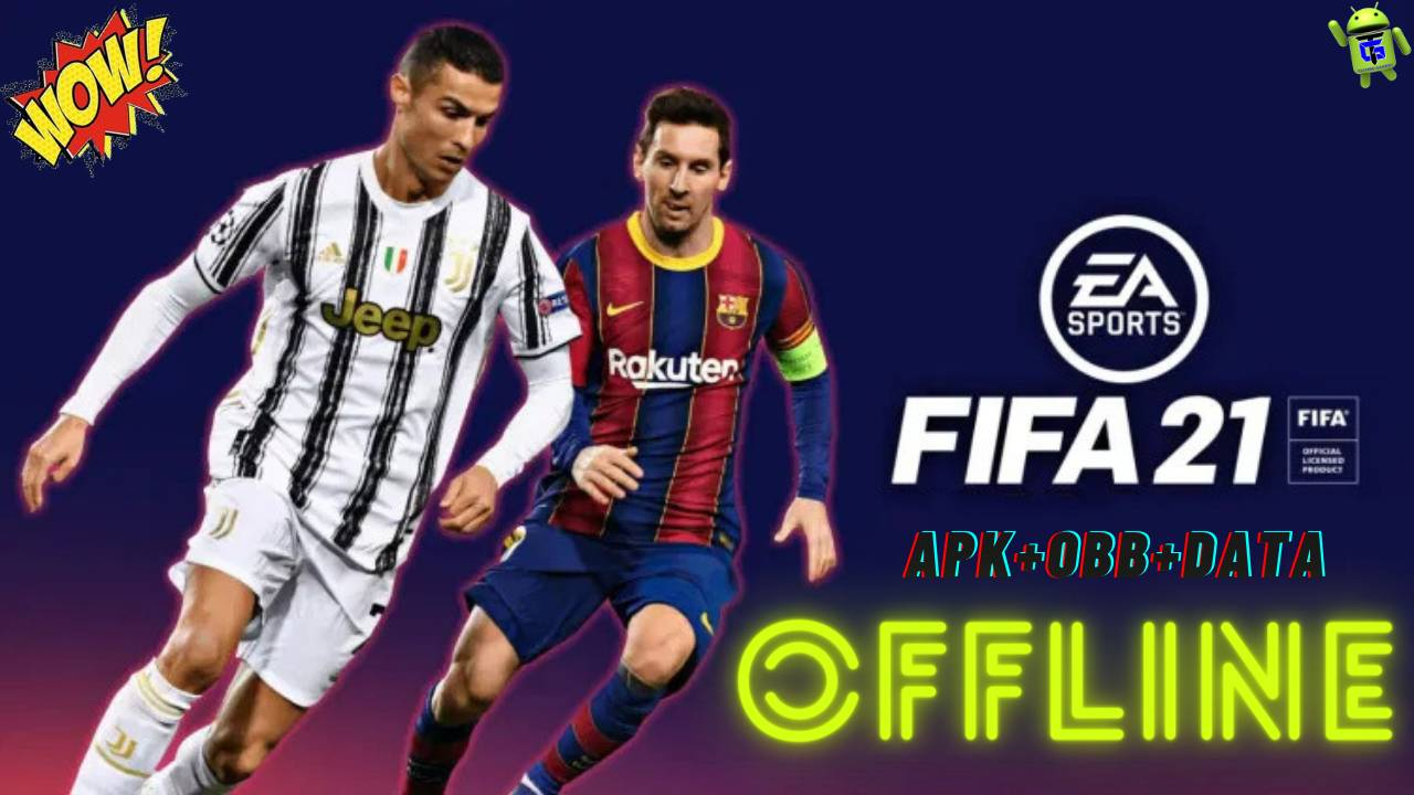 Download FIFA 21 mod apk FIFA 14 data for android