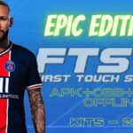 FTS 21 Mod APK Data Epic Edition Kits 2021 Download