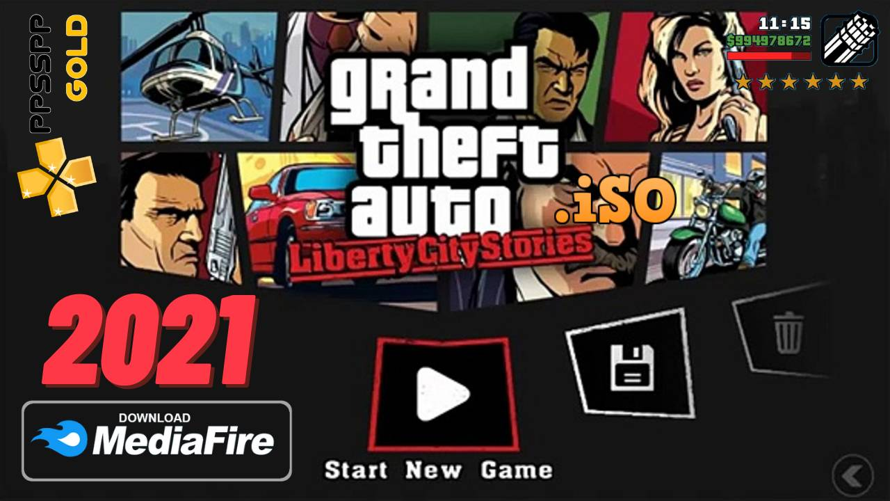 GTA Liberty City Android PPSSPP Download