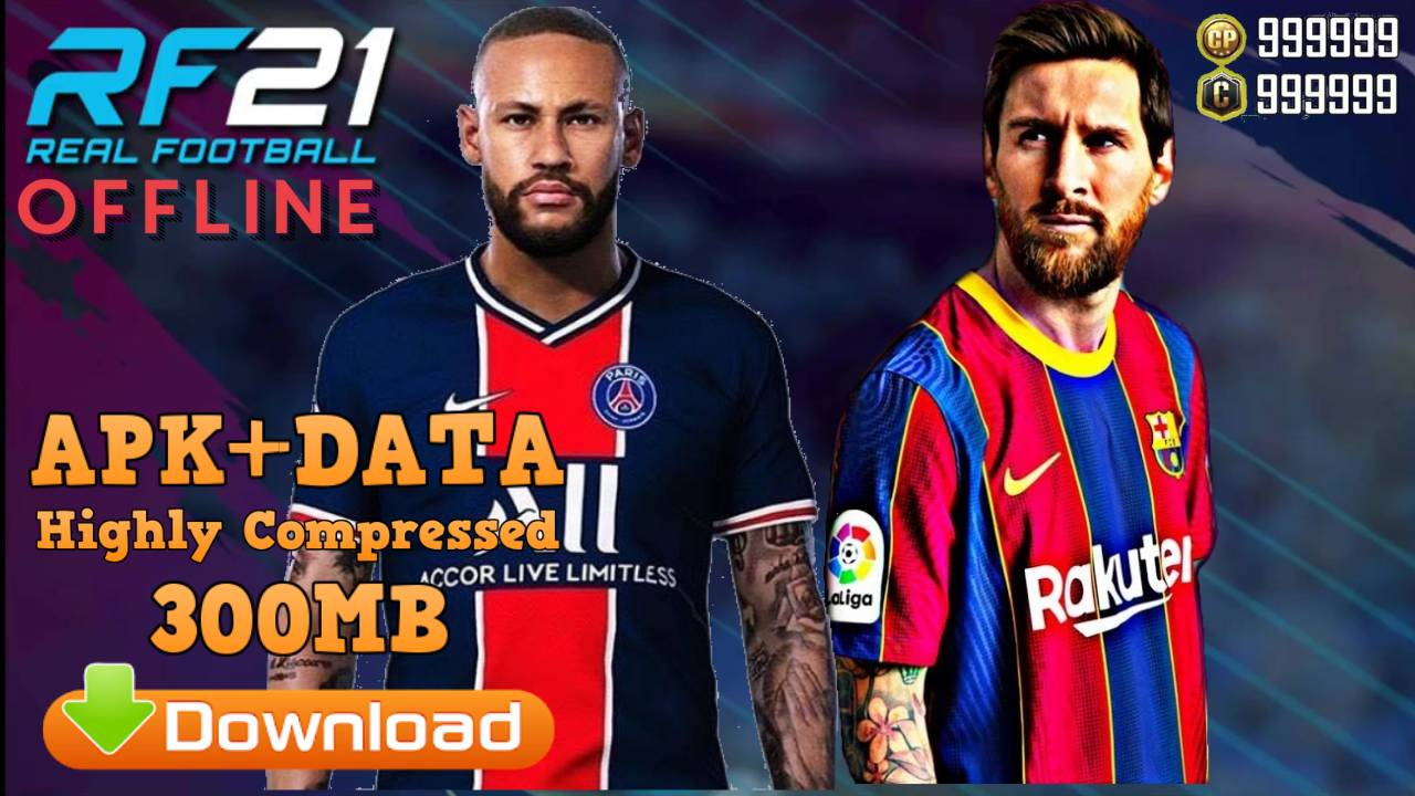 RF 21 Real Football 2021 Mod APK Data Android Download