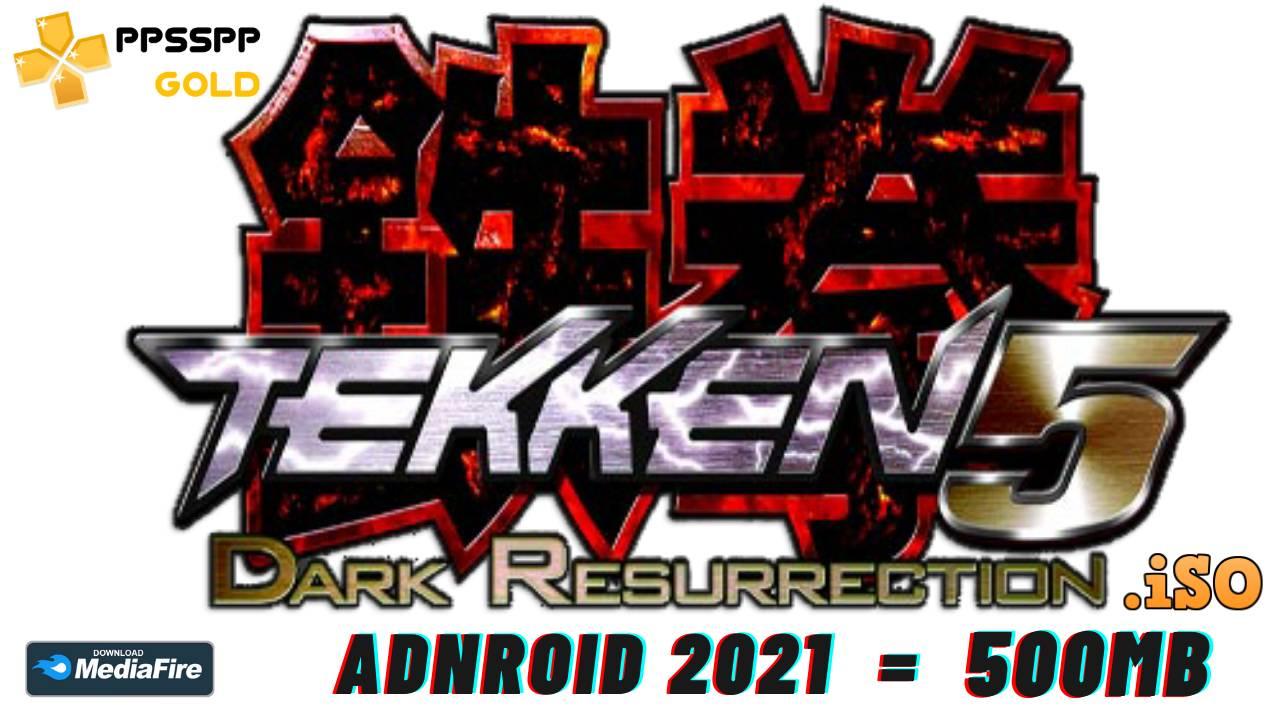 Tekken 5 iSO PPSSPP android 2021 Download
