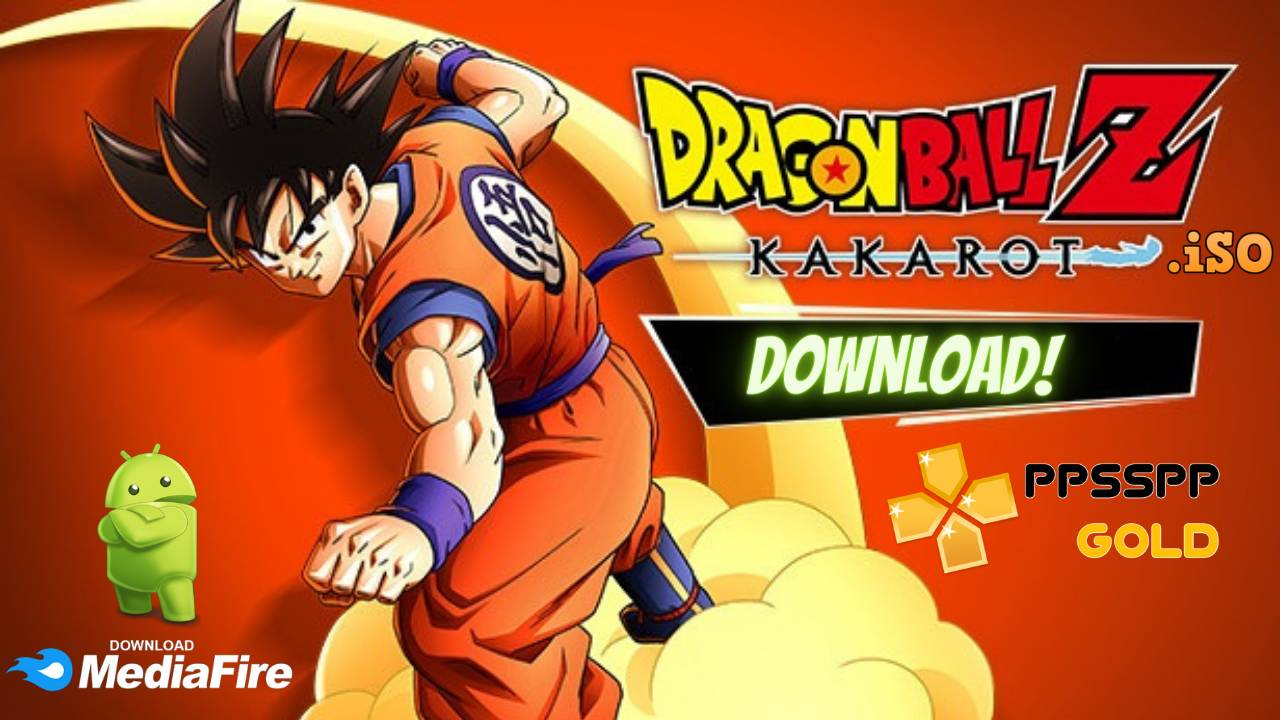 Dragon Ball Z PPSSPP Gold Download for Android