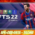 FTS 2022 Mod APK Obb Data Money Download