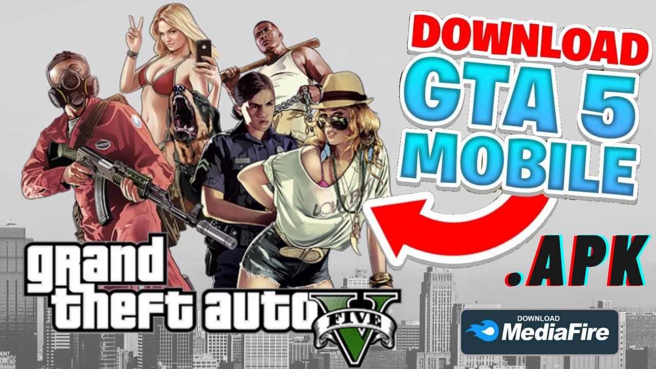 GTA 5 APK Mod 280MB Download