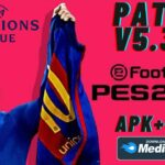 PES 2021 Mobile Patch UCL APK OBB Download
