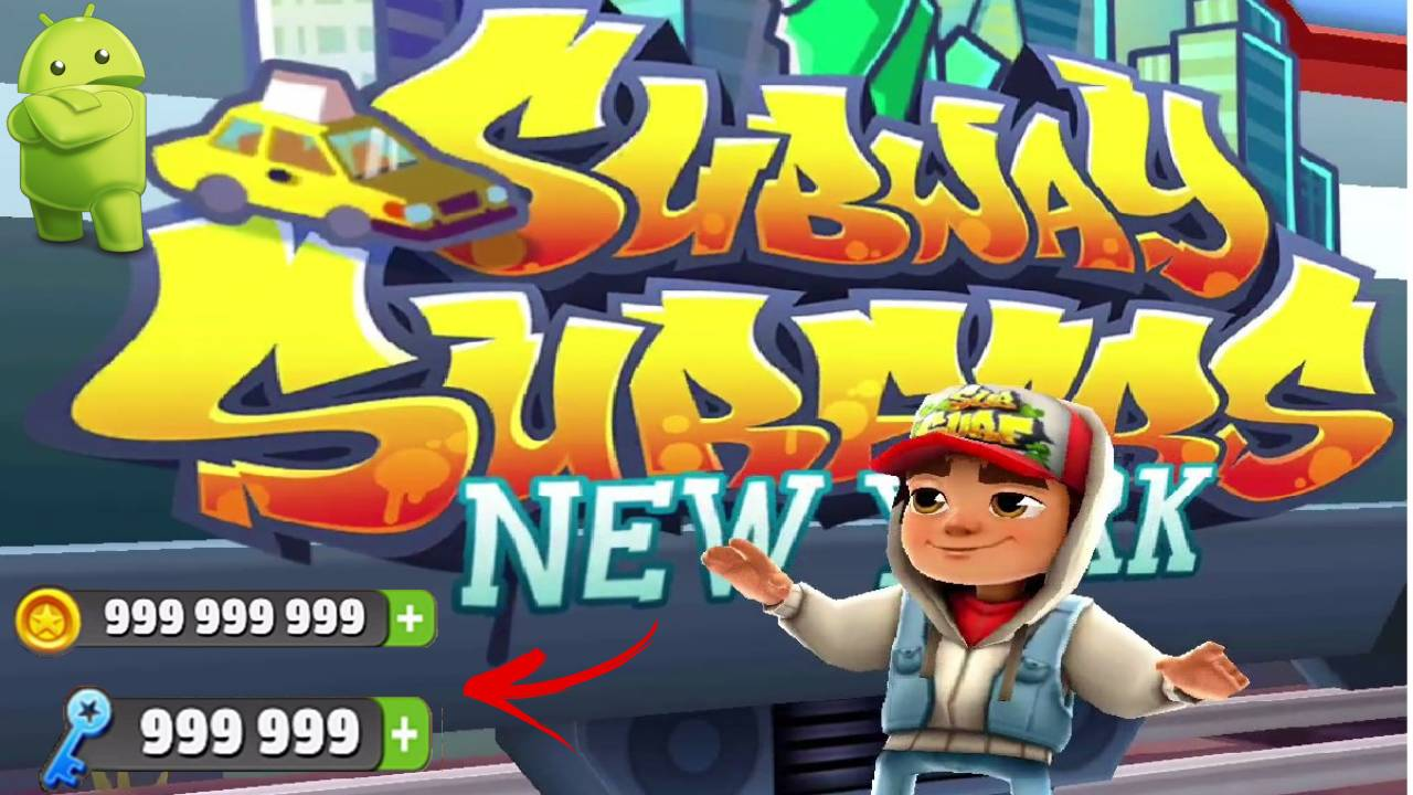Subway Surfers APK Unlimited Coins and Keys Download