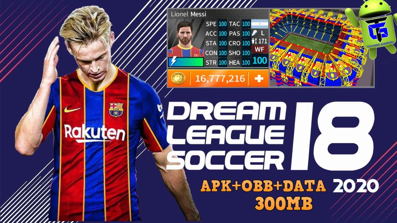 DLS 18 APK Barcelona Update 2021 Download