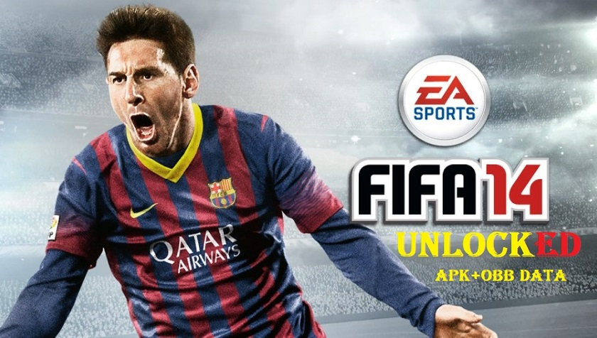 FIFA 14 Mod Apk Data Unlocked Android Game Download