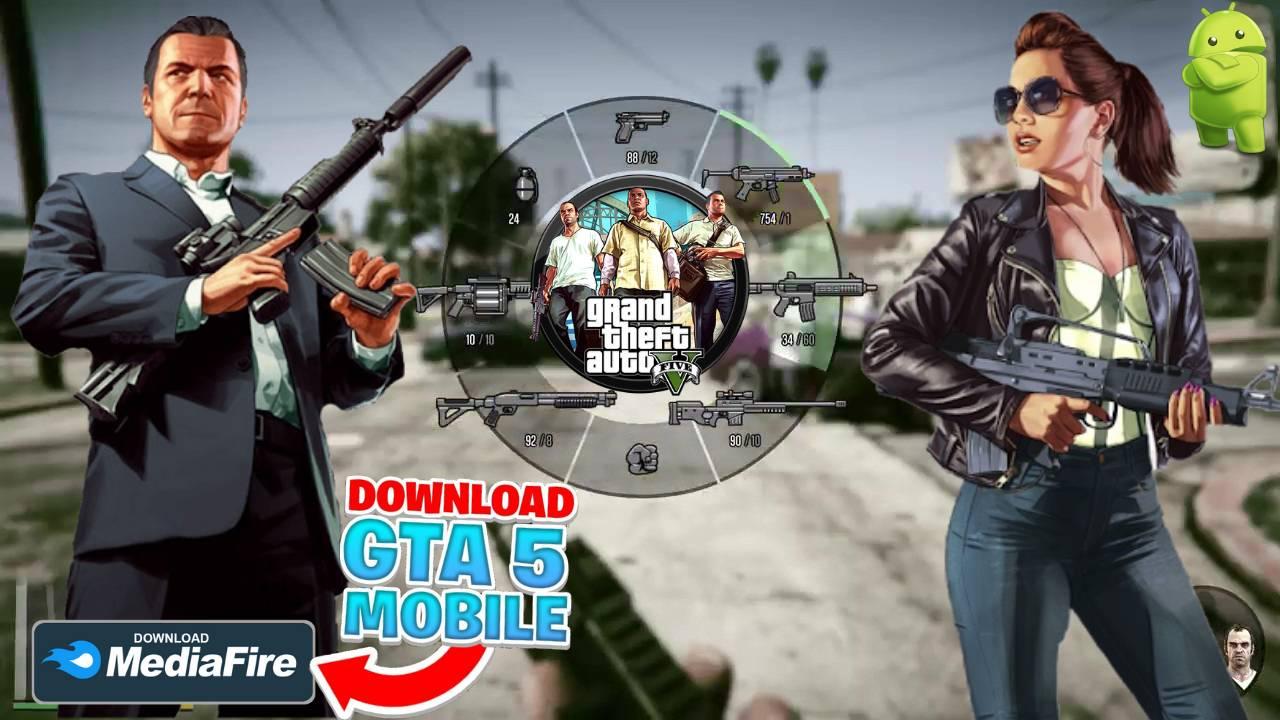 GTA 5 Unity APK Mod Games Download