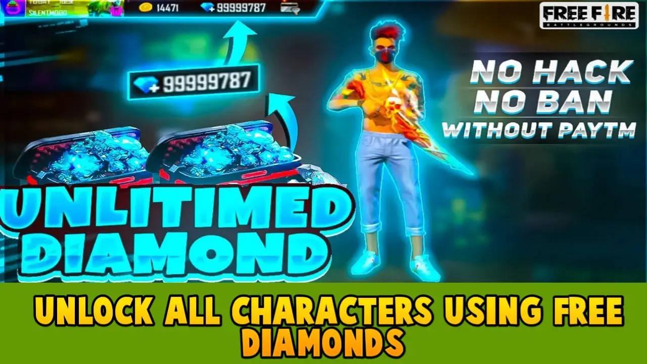 Free Fire Unlimited Diamond Script 2021 Download