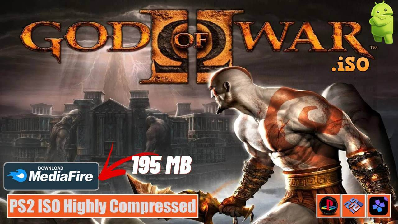 God of War 2 iSO for Android PS Emulator Download