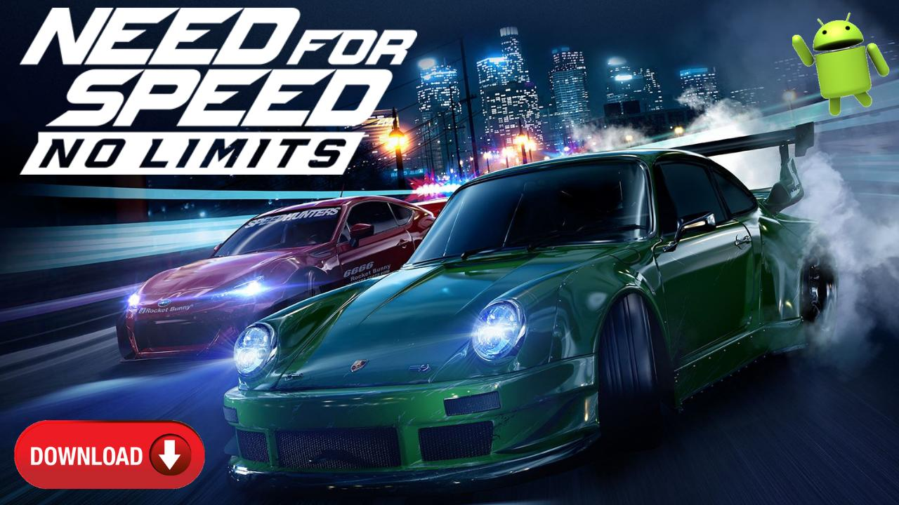 Need for Speed NFS No Limits Mod APK OBB Download