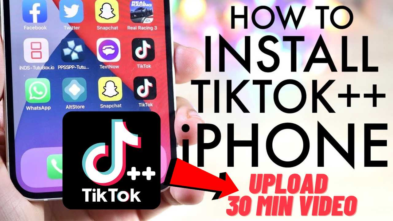 TikTok++ iPA iOS iPhone Download