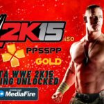 WWE 2K15 iSO Android PPSSPP Gold Unlocked Download