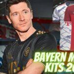 Bayern Munich Kits 2022 DLS 21 Dream League Socce FTS