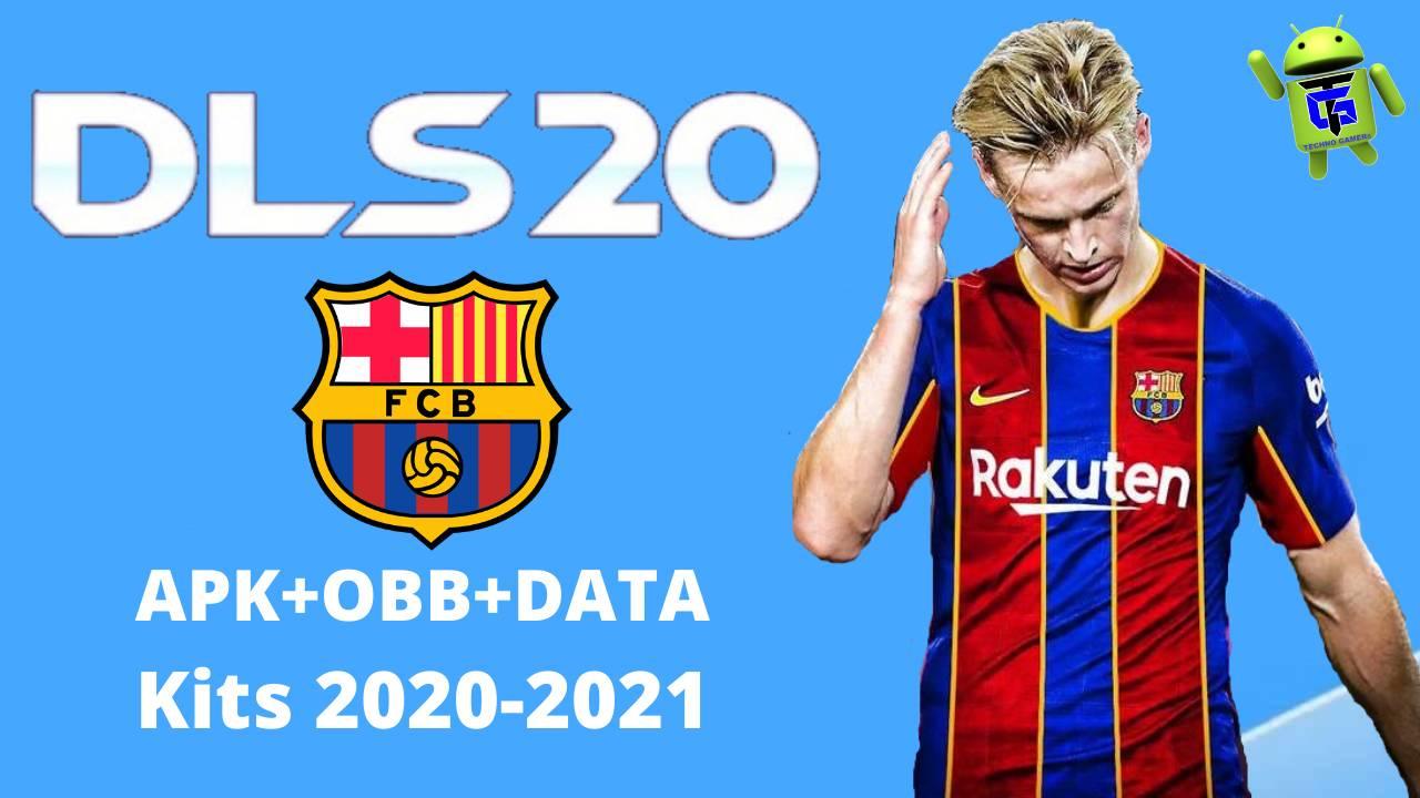DLS 20 Mod APK Barcelona Kits 2021 Download