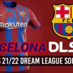 FC Barcelona New Kits 2022 DLS 21 FTS