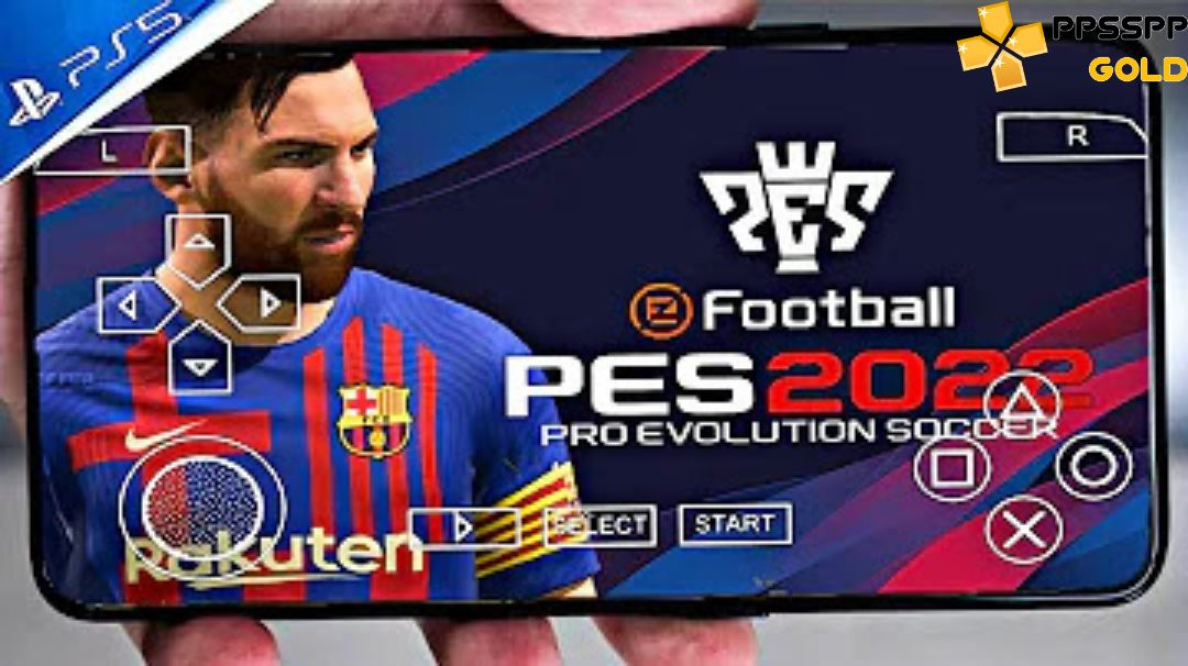 PES 2022 PPSSPP iSO for Android iOS PC PS5 Download