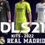 Real Mdrid Kits 2022 DLS 21 FTS Touch Soccer