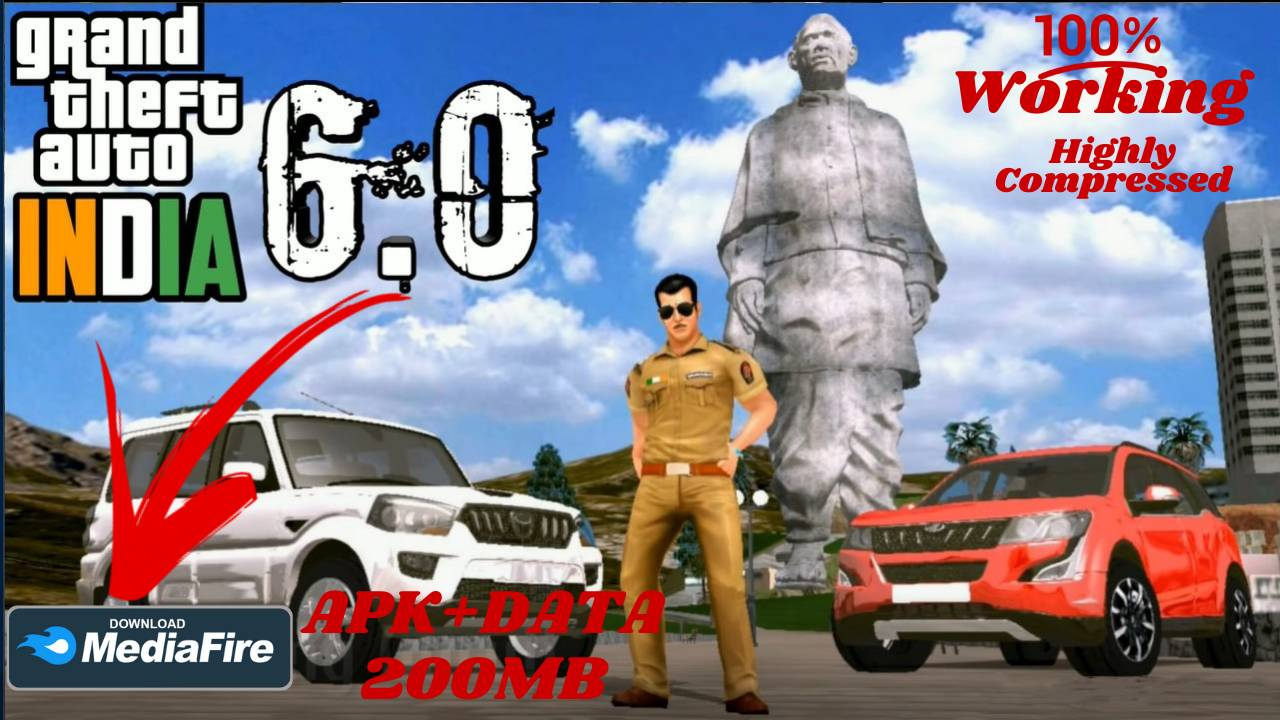 Grand Theft Auto GTA India 6 APK for Android Download