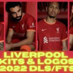 Liverpool Kits 2022 DLS FTS Touch Soccer Kits Logo