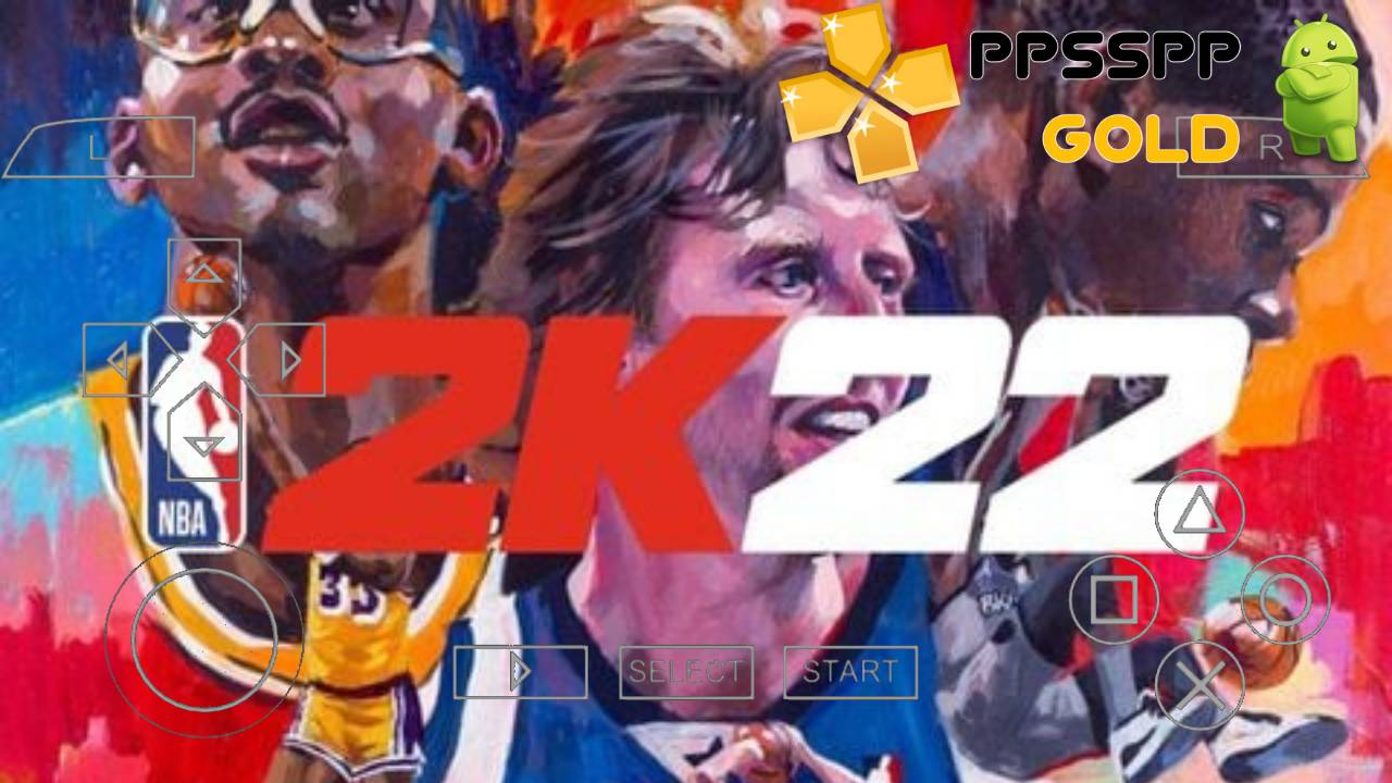 NBA 2K22 iSO PPSSPP for Android and iOS Download