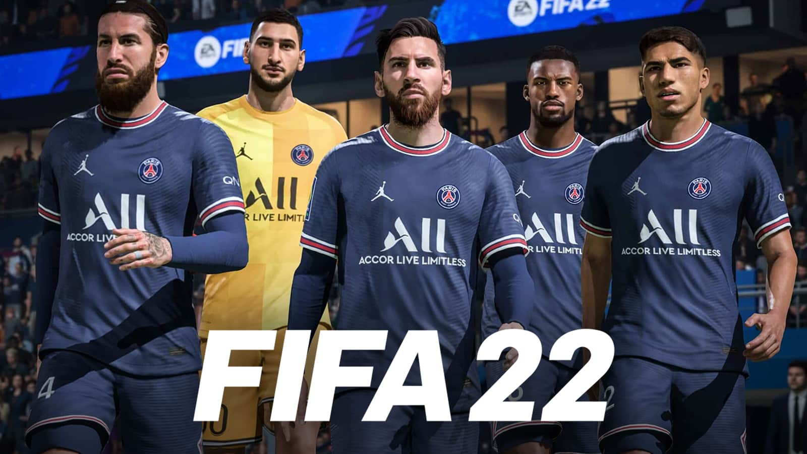 Download FIFA 22 Apk Messi to PSG Android